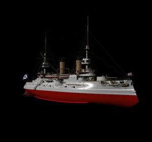 cesarevich russia 3D model