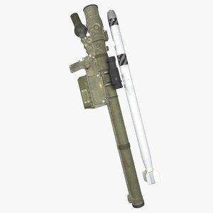 3D model rocket launchers