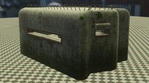 bunker pillbox 3D model