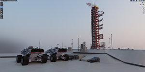 3D space nasa apollo launch
