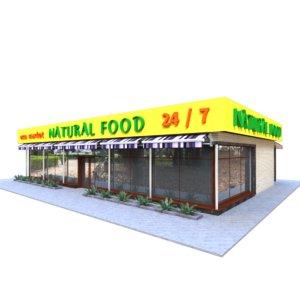 store building 3D model