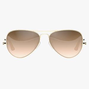 3D glasses classic gradient