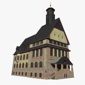 old cityhall 3D model