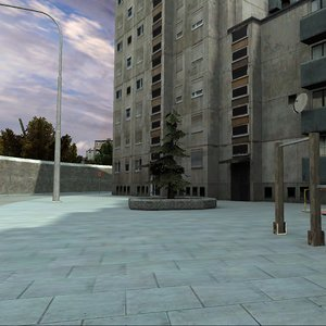 ghetto city 3D model