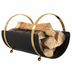 wood firewood model
