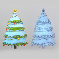 Environment - Christmas Tree Stylized