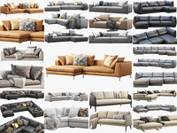 Modern sofas collection x 14