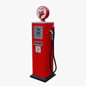 vintage fuel pump 3D model