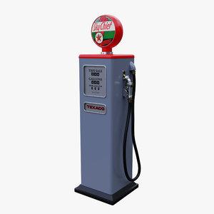 vintage fuel pump model
