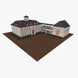 city houseblock model