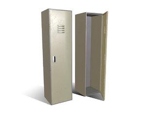 3D locker realistic