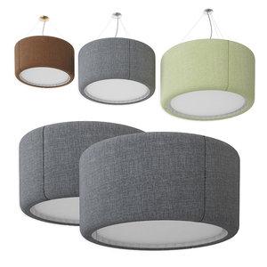 silenzio luceplan suspension lamps model