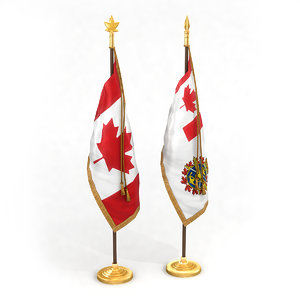 3D canadian flag pack