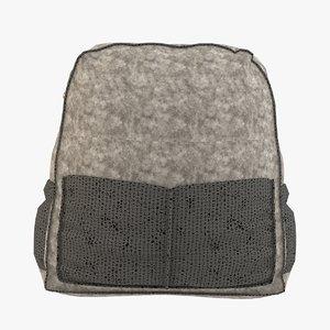 bag backpack model