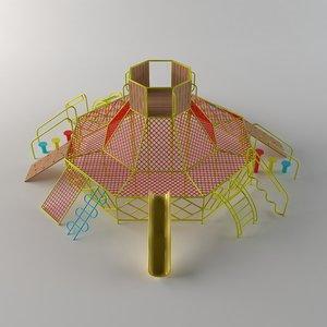 playground net 3D model