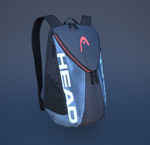 3D backpack bag