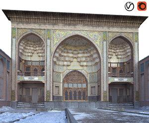 khan house tabriz model