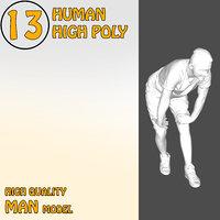 3D High Quality Human 13