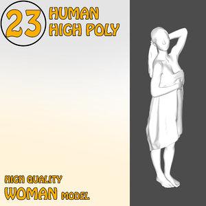 human man 3D