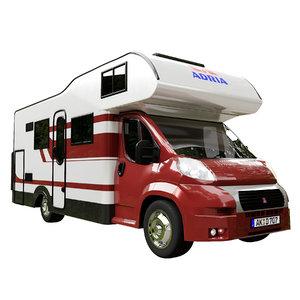 3D model camper bus