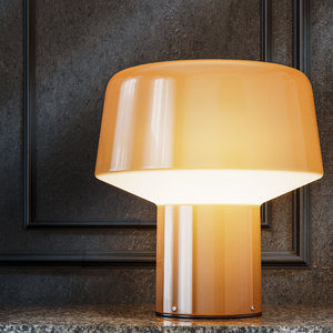 3D model table lamp foscarini glass