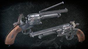 westworld revolver 3D model
