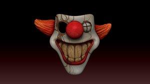 sweet tooth terror halloween 3D model