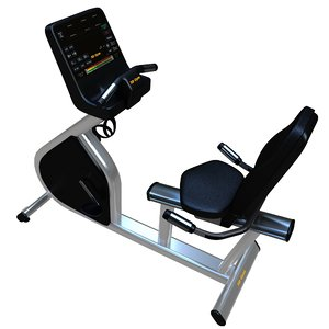 3D exercise bike cardio