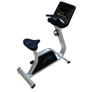 3D model exercise bike cardio