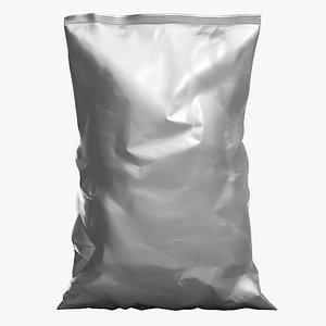 3D food chip bag