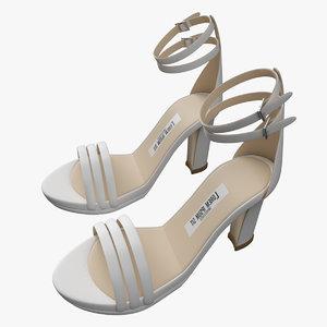heel shoes model