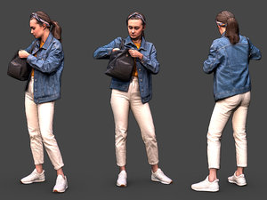 stylized character 3D