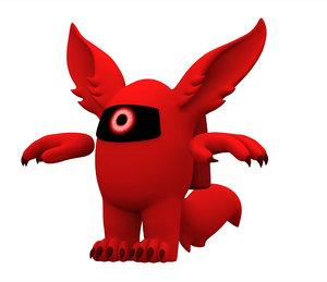 red werewolf model