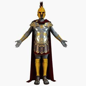 roman armor 3D model