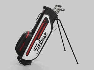golf bag stadry 3D model