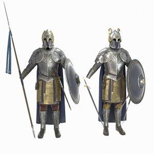 3D infantry armor