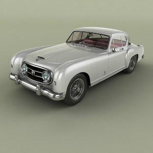 3D model 1954 nash-healey le mans