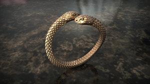 3D ring snake