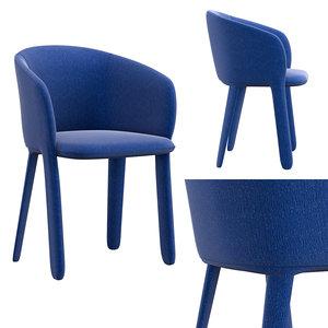 3D grace chair grp6 model