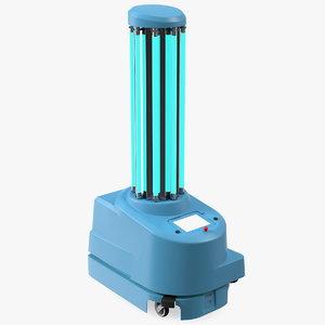 disinfection robot supplier 3D model