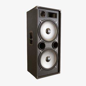 3D speaker pa model