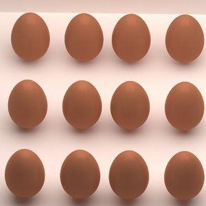 egg food 3D model