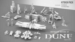 dune pack 3D