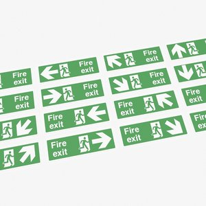 exit signs model