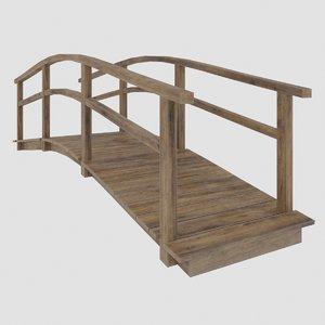 bridge architecture 3D model