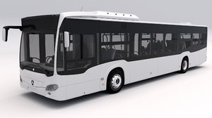 3D model mercedes benz citaro