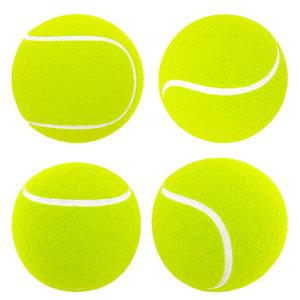3D tenis boll