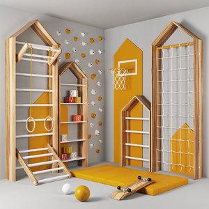 children s complex 3D model