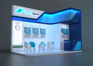 stand sqm 3D model