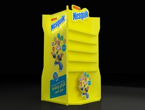 3D products stand